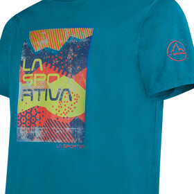 La Sportiva Patch T-Shirt Homme, neptune